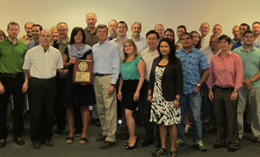 Spectral Sciences Inc. Receives 2014 Cogswell Outstanding Industrial Security Achievement Award